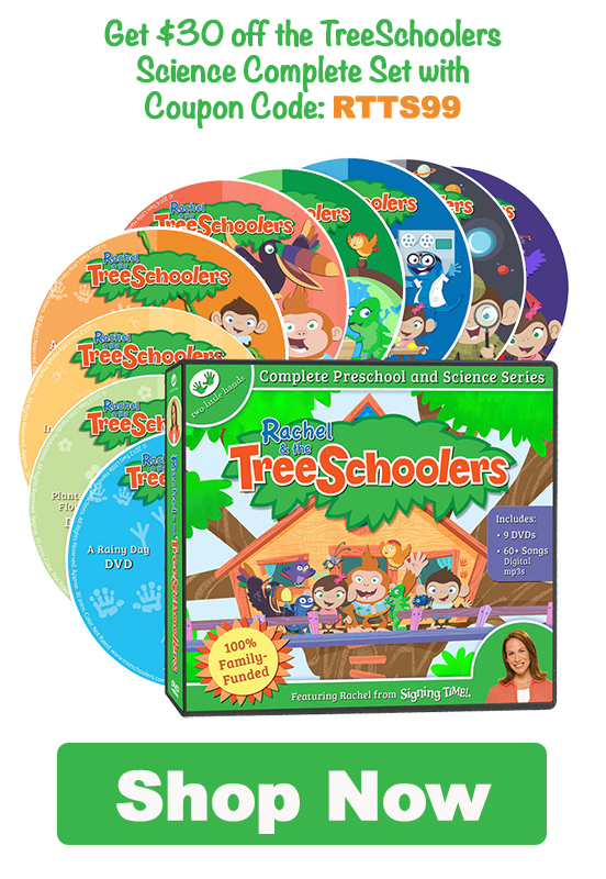 $99.99 TreeSchoolers Science Complete Set (DVD Edition) with coupon code: RTTS99